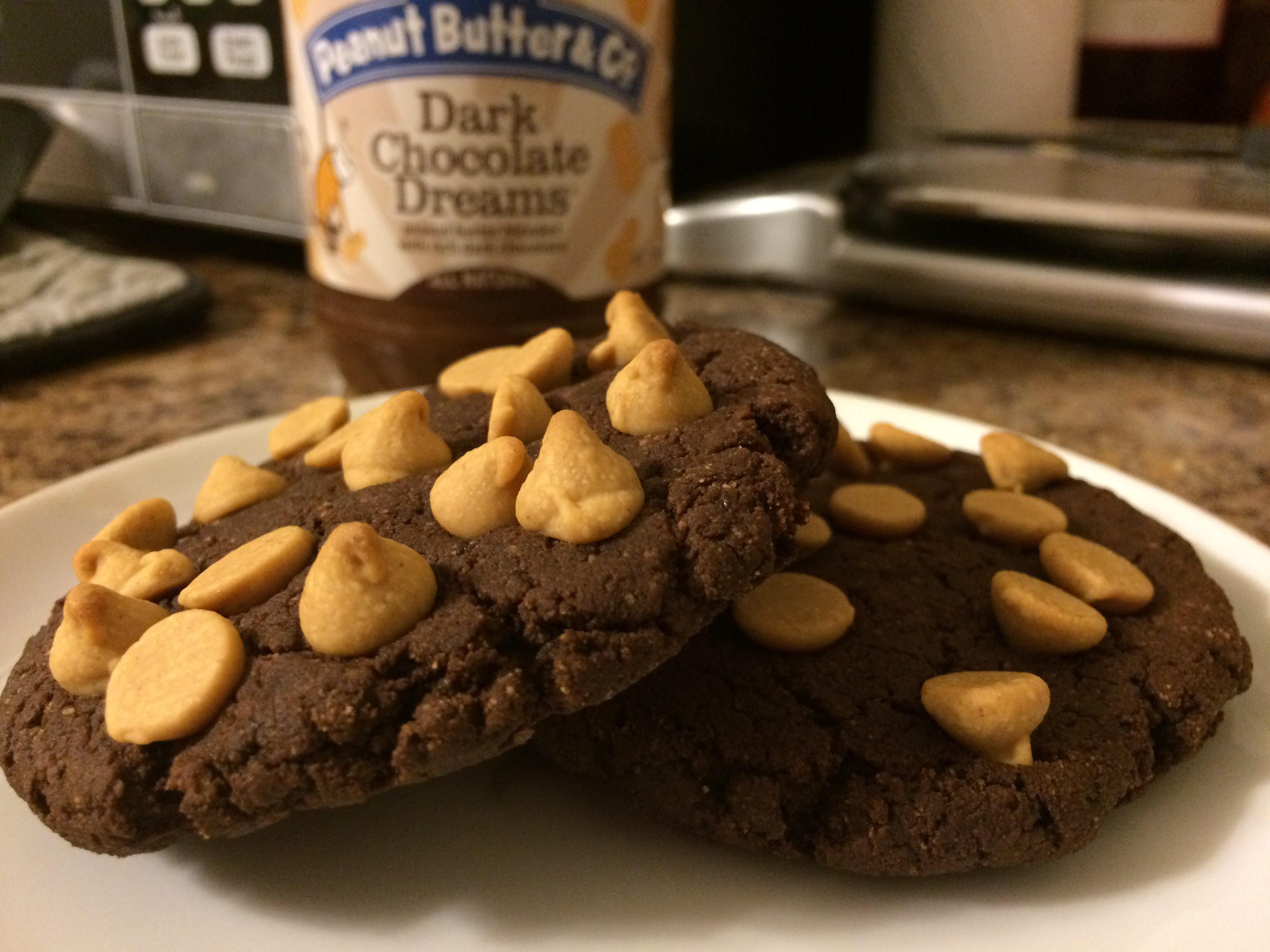 Sarah Lynn Fitness Cookie Challenge: Double Chocolate Fudge Cookies