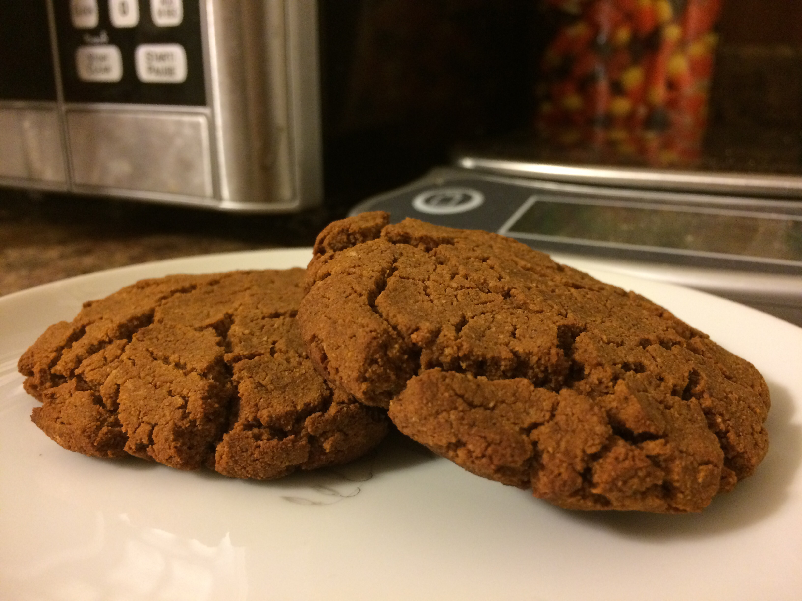 Sarah Lynn Fitness Cookie Challenge: Molasses Ginger Cookies