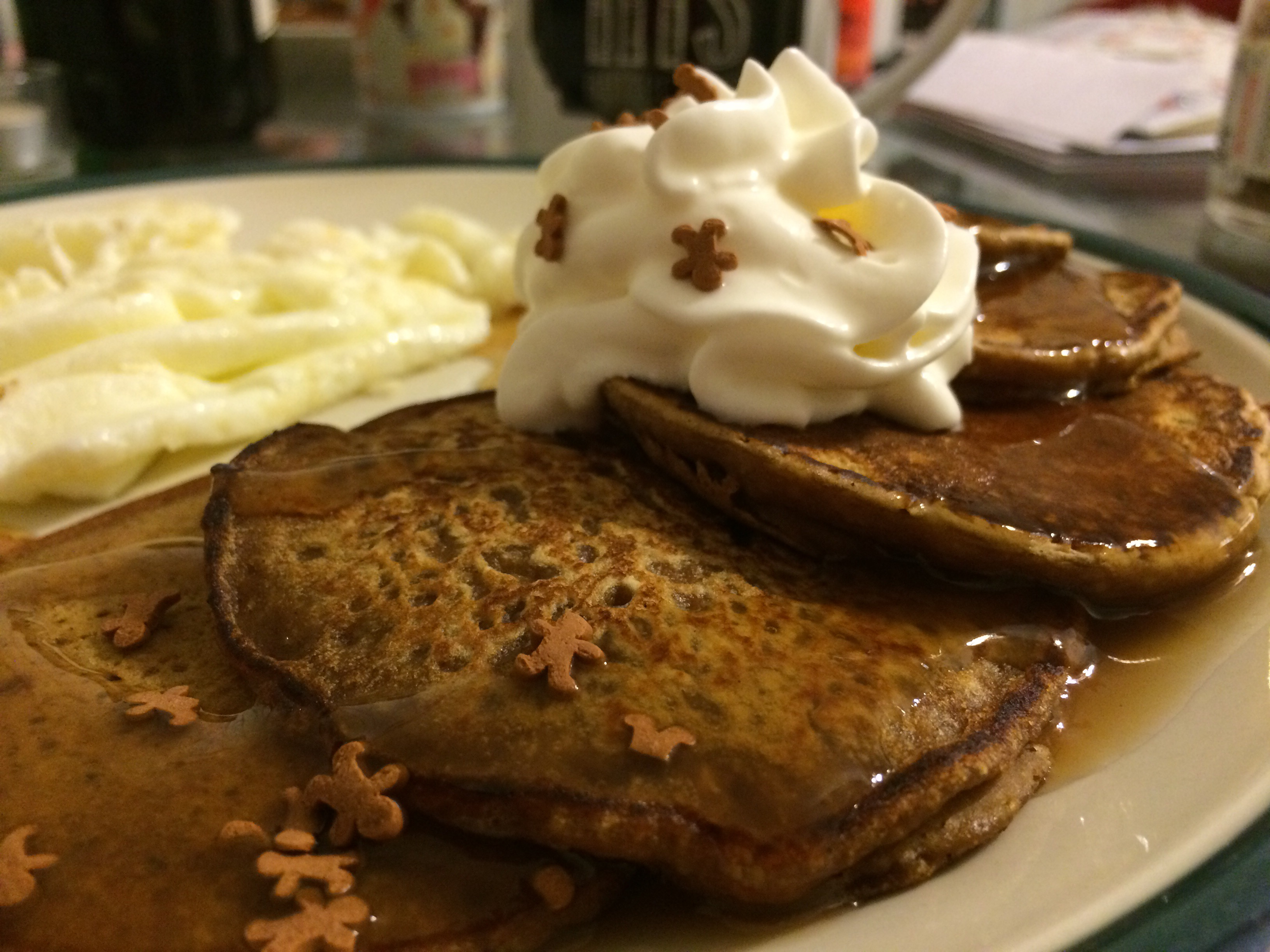 Recipe: Food Network Gingerbread Pancakes