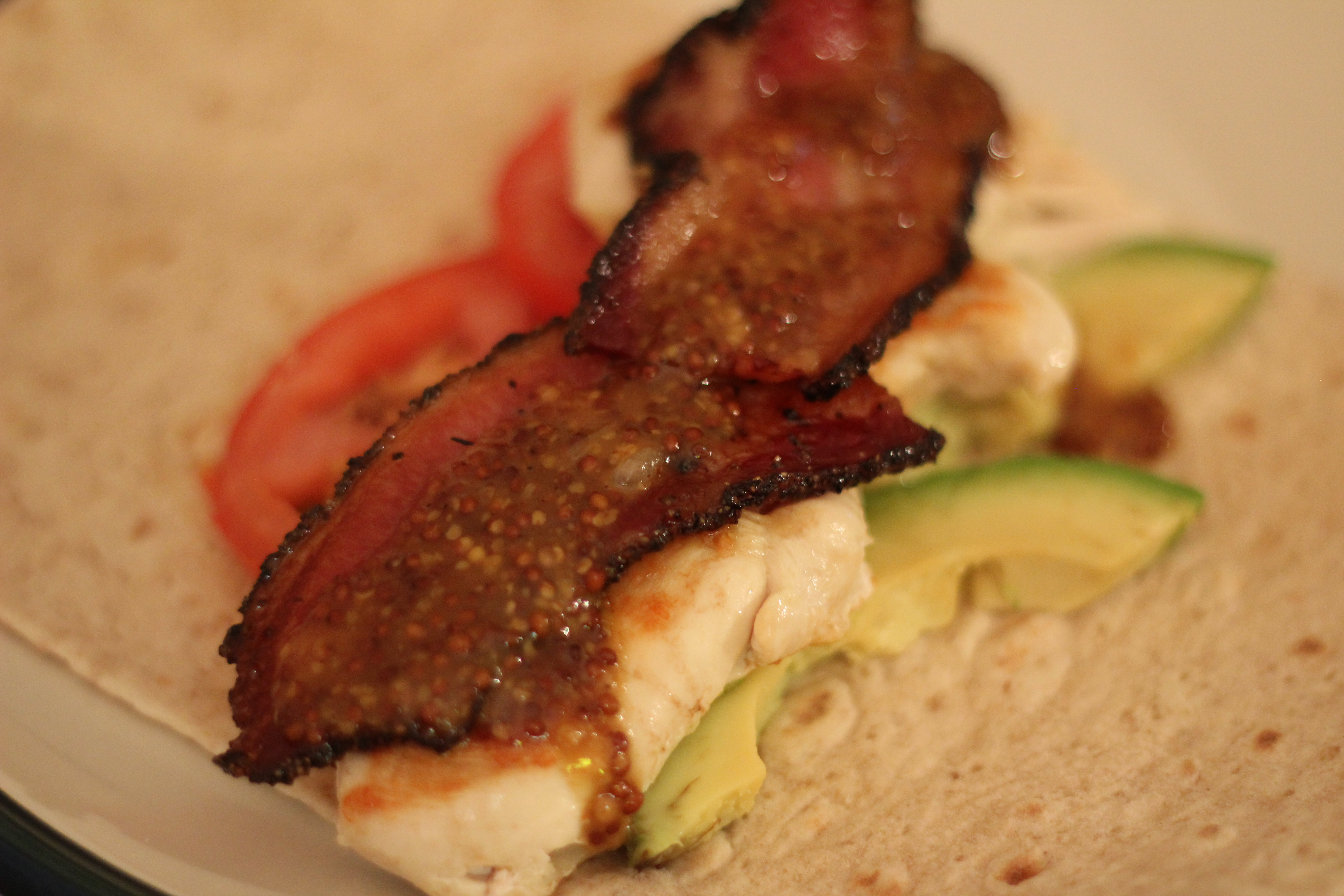 Recipe: Grilled Chicken Wrap with Homemade Honey Mustard Sauce